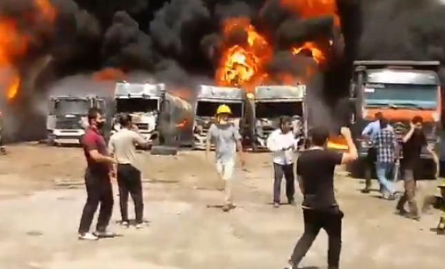 אפקט 'טהרן'? פיצוץ נשמע במחוז כרמאנשאה באיראן