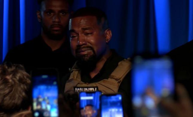 באמצע השקת הקמפיין לנשיאות: הראפר פרץ בבכי
