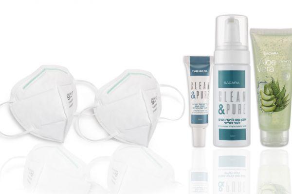 סקארה מציגה: ערכת טיפוח ייחודית לעור בימי הקורונה