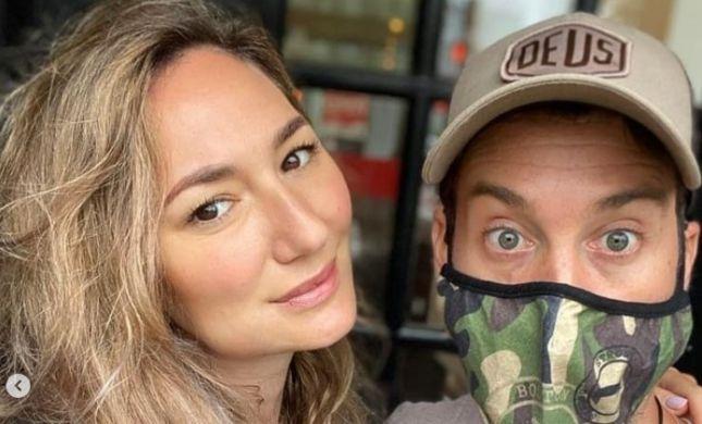 בעקבות הניתוח: מיכל אנסקי ובעלה נכנסו לבידוד