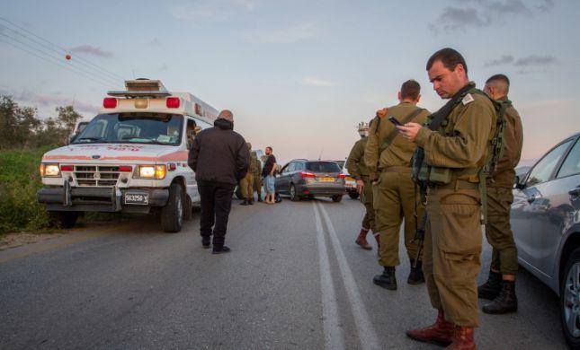 מחבלים שדדו רכב מאם ובתה בכביש בשומרון