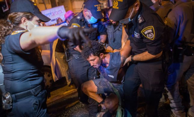 המחאה יצאה משליטה: פצועים, עצורים וונדליזם