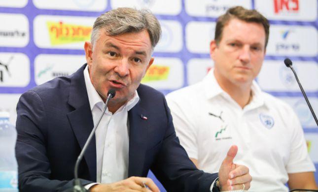 """המאמן החדש: """"החזון הוא להביא את ישראל לצמרת"""""""