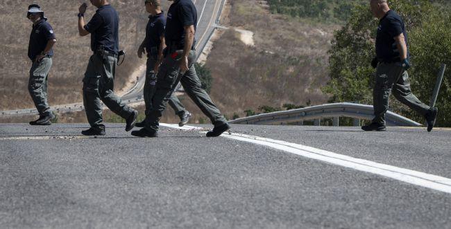 רכב ישראלי ניזוק מהדי פיצוץ בגבול סוריה