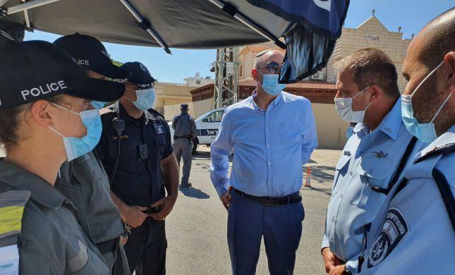 העלייה בתחלואה: המשטרה במבצע אכיפה במוקדי בילוי