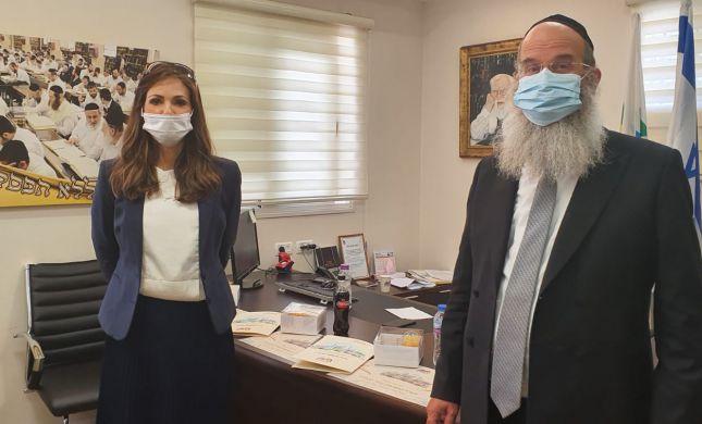 ינקלביץ' וראש העיר בני ברק סיכמו על שיתוף פעולה