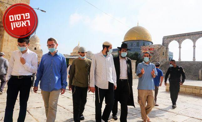 מסתמן: הר הבית יפתח ליהודים במהלך הסגר