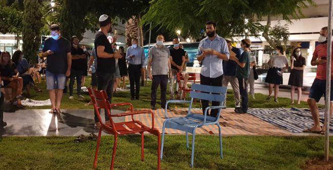 צפו: כך נראה כיכר דיזינגוף בתל אביב בקריאת איכה