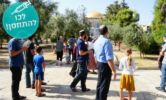 הר הבית נפתח לכניסת יהודים תושבי האזור בלבד