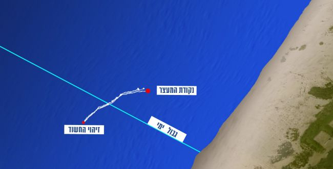 צפו: כך נעצר פעיל החמאס שחדר לישראל בשחיה