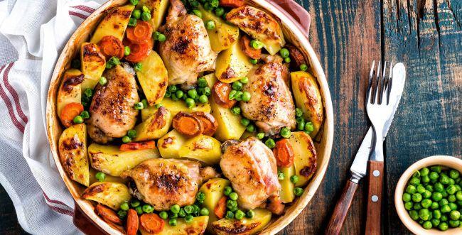 סורגים שבת: מתכון מושלם לעוף עסיסי עם ירקות