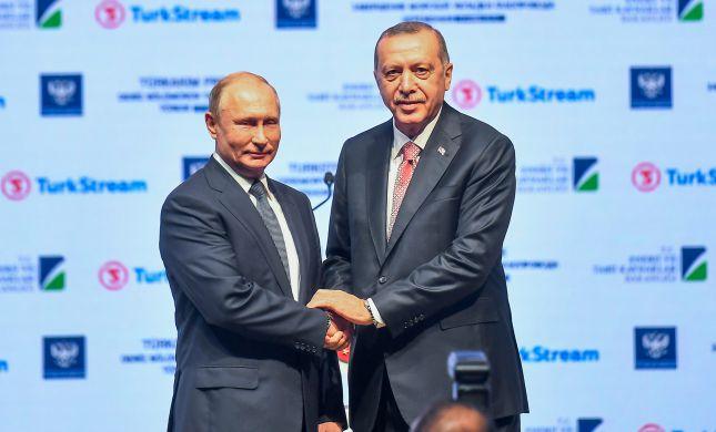 רוסיה, איראן וטורקיה גינו את התקיפות בסוריה