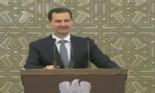 אסד: תקיפות ישראל בסוריה נועדו לעזור לאנשי דאעש