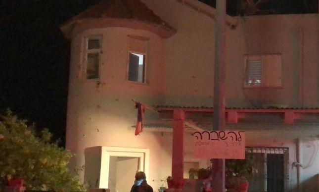 בית בשדרות ספג רסיסים, בן 58 נפצע משברי זכוכיות