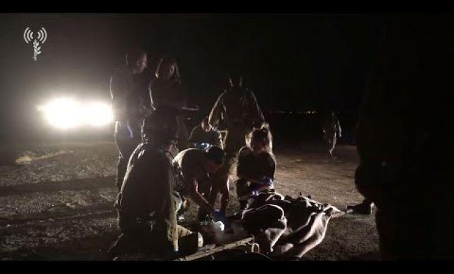 """צה""""ל חיסל 4 מחבלים בגולן, מטוסי קרב תקפו בעזה"""
