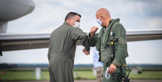 בשמי גרמניה: חיל האוויר משתתף בתרגיל בינלאומי