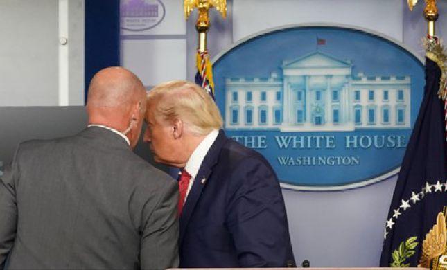 בהלה בבית הלבן: טראמפ פונה בעקבות אירוע ירי
