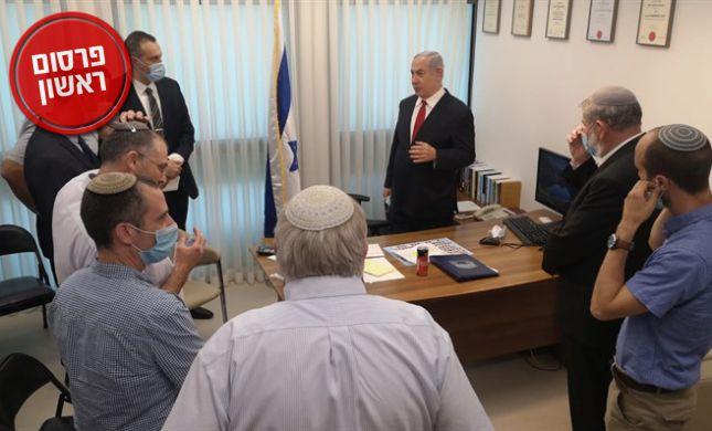 נתניהו נפגש עם ראשי השירות הלאומי לפתור את המשבר