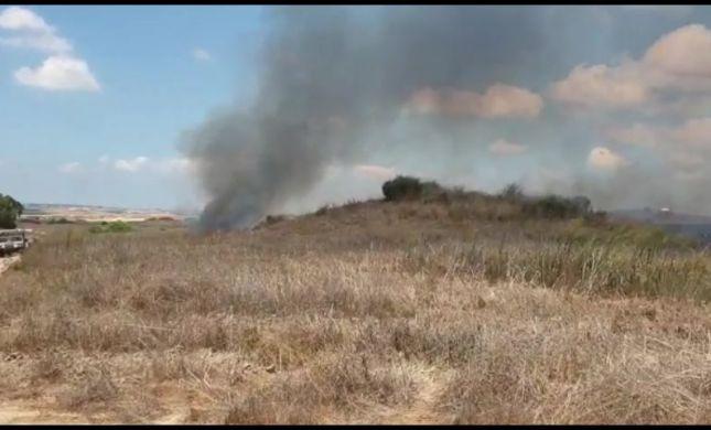 מרחף, נוחת ומצית שריפה: כך נראה בלון תבערה