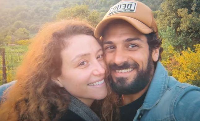 צפו: אביב אלוש במחווה מרגשת לאשתו
