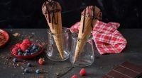 אוכל, מתכונים חלביים מתכון מפנק לגלידת שוקולד ביתית עם טוויסט