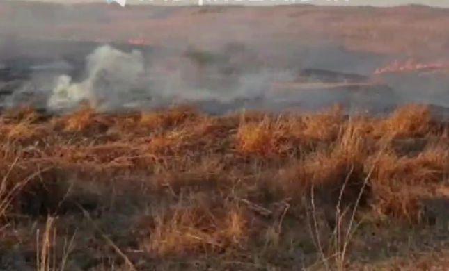 טרור הבלונים נמשך: 23 שריפות פרצו בעוטף עזה