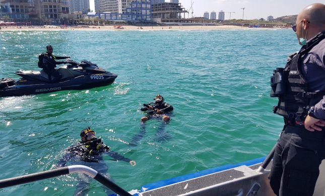 חיפושים אחרי צעיר שנעלם בים במוצאי שבת