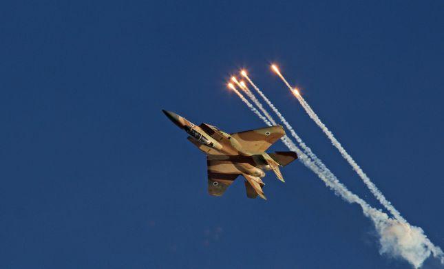 """ירי על כוח צה""""ל: חיל האוויר תקף יעדים של חיזבאללה"""