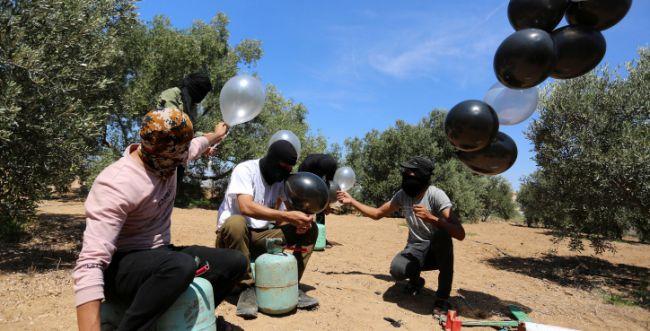 טרור הבלונים: מעל ל-20 שריפות בעוטף עזה