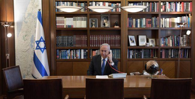 """נתניהו: """"ההסכם - פריצת דרך לשלום במזרח התיכון"""""""