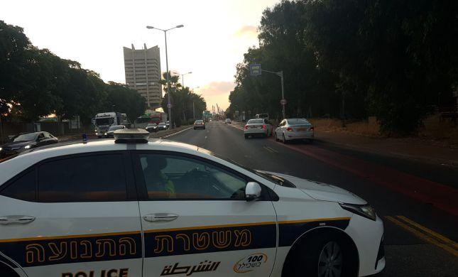 הולך רגל כבן 40 נדרס בחיפה; מצבו אנוש