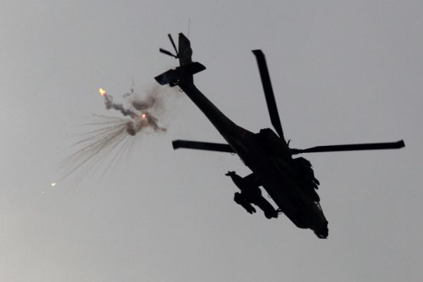 בתגובה לירי: חיל האוויר בתקיפה לילית בעזה