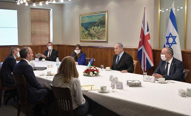 """נתניהו לשר הבריטי: """"מצפים לשינוי מדיניות נגד איראן"""""""