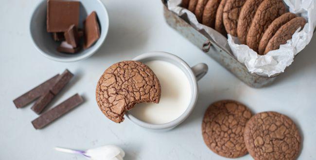 ממכר: מתכון לעוגיות שוקולד מ-3 מרכיבים בלבד