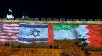"""ויראלי שלום ב-3 שפות בעיריית ת""""א; 4 דגלים על החומות"""