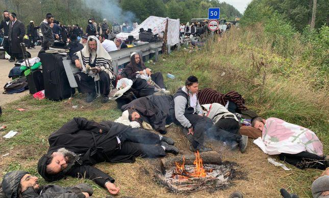 דרעי לנשיא אוקראינה: תן לברסלברים להיכנס לאומן