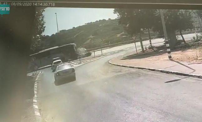תיעוד: תאונת הדרכים הקשה בגוש עציון. צפו