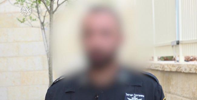 שחזור הפיגוע:השוטר העניק סיוע למחבל שדרס אותו