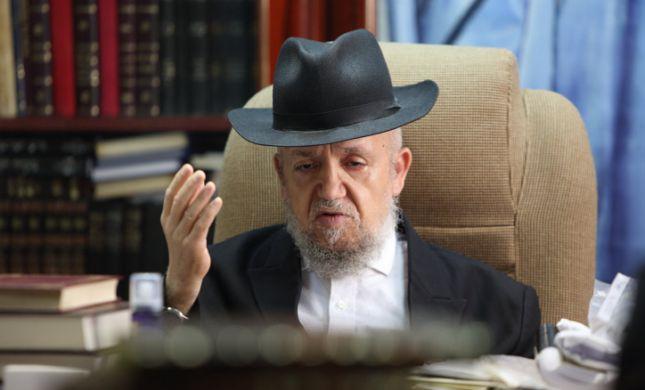 התפללו לרפואתו: הרב מאיר מזוז פונה לבית החולים