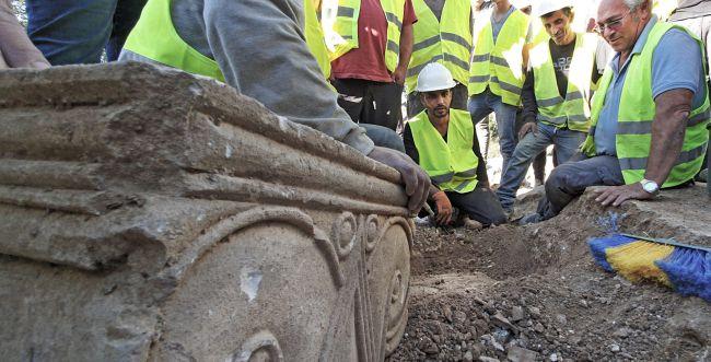 שרידי מפוארים מימי בית ראשון התגלו בארמון הנציב