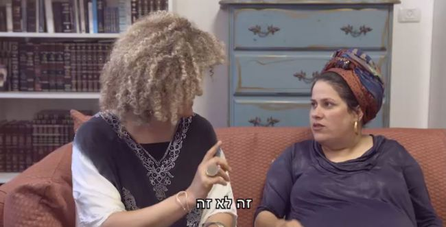 מה קרה כשאודהליה ברלין הגיעה לסלון של חנה אלורו?