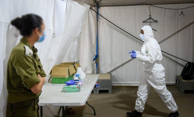 """צה""""ל העביר מידע על חיילים חולי קורונה לצורך ניסויים"""
