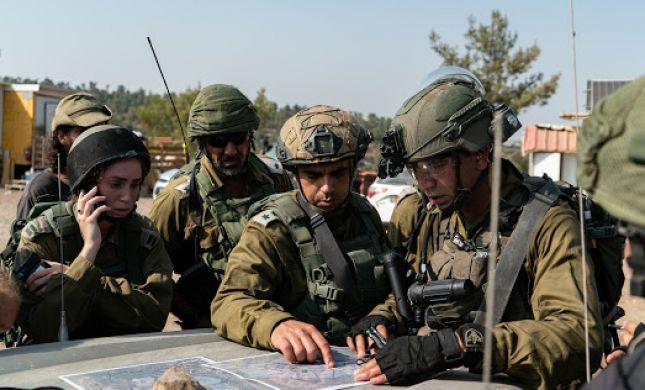 """דימוי פיגוע ירי: צה""""ל ערך תרגיל נרחב ביהודה ושומרון"""