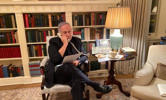 """נתניהו ערך התייעצות מארה""""ב על ההיערכות לסגר"""