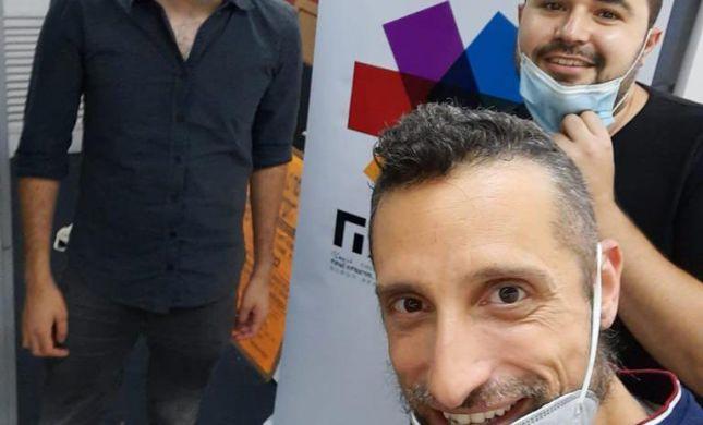"""דניאל זמיר נפגש עם נציגי הקהילה הגאה: """"התרגשתי"""""""