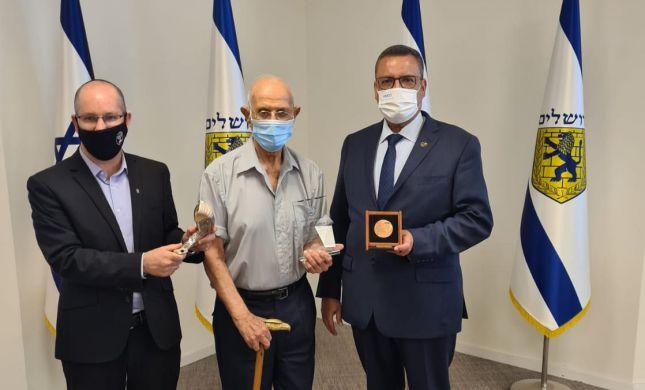 טקס מרגש: בירושלים ציינו 90 שנה לתקיעה בכותל