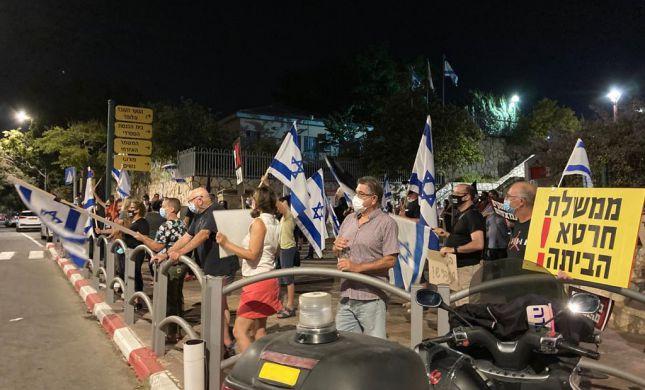 למרות הסגר: אלפי מפגינים נגד נתניהו ברחבי הארץ