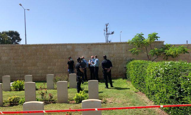 גופת תינוק אותרה בבית העלמין הישן בחיפה