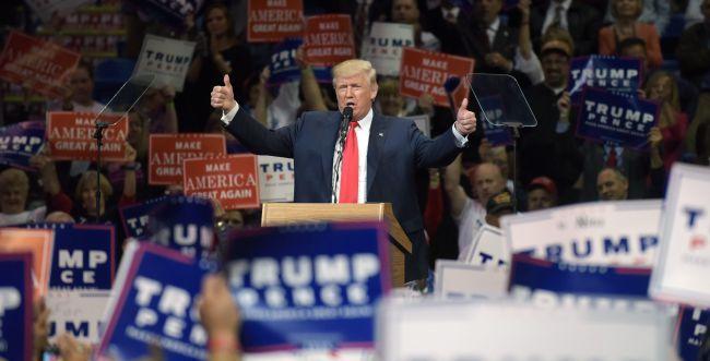 """תומכי טראמפ מפגינים: """"לעולם לא נכיר בהפסד"""""""
