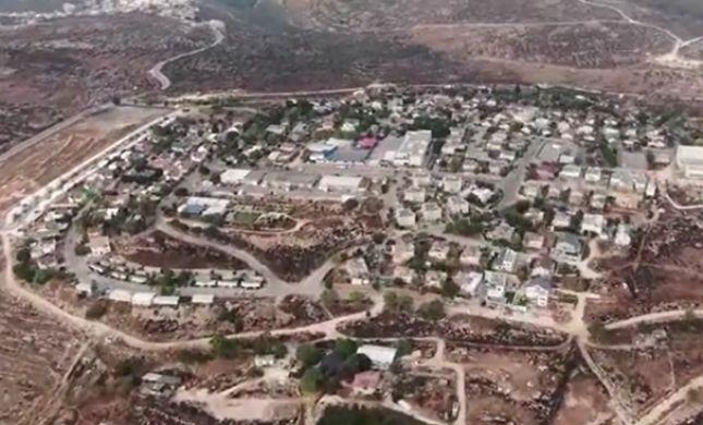 צפו: חגיגות בשומרון בעקבות אישורי הבנייה
